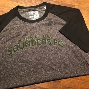 Seattle Sounders Adidas Ultimate Tee. Size Medium.
